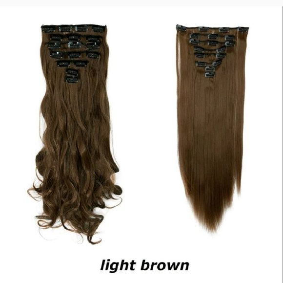 Accessories Light Brown Hair Extensions Poshmark